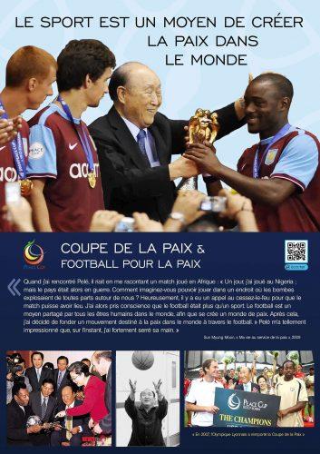 Le sport est un moyen de créer la paix dans le monde
