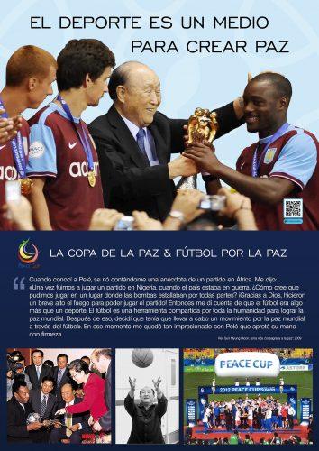 El deporte es un medio para crear la paz mundial