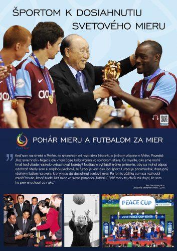 Športom k dosiahnutiu svetového mieru